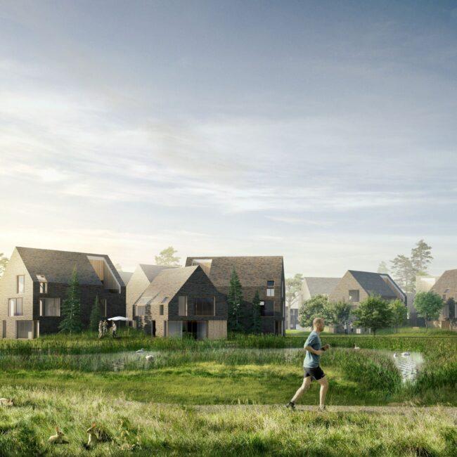 Hammersholt Enge. Koncept og vision for fremtidens bæredygtige landsby.