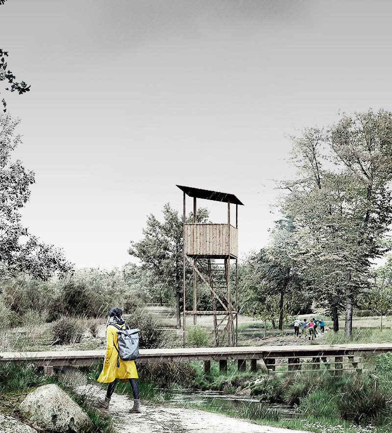 Hammersholt Enge skal revitalisere landsbyklyngen ved at tilføre nye boligformer og typer, forstærke lokale kvaliteter og styrke adgangen til og oplevelsen af naturen.