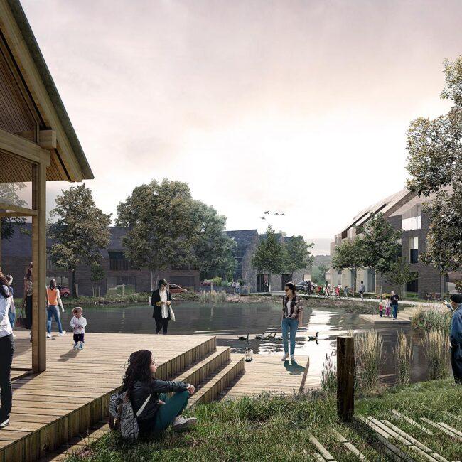 Hammersholt Enge - fremtidens bæredygtige landsby.